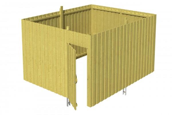 Abstellraum A 4 Zubehör Carport Deckelschalung
