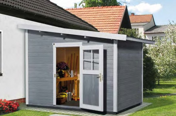 Gartenhaus 260 Größe 1 205x241