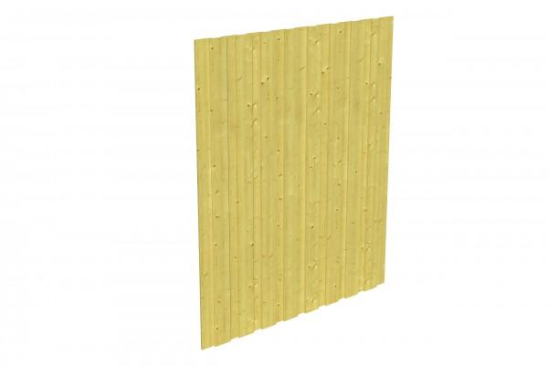 Spreewald / Sauerland 1-9 Zubehör Seitenwand ohne Tür Größe 141x220