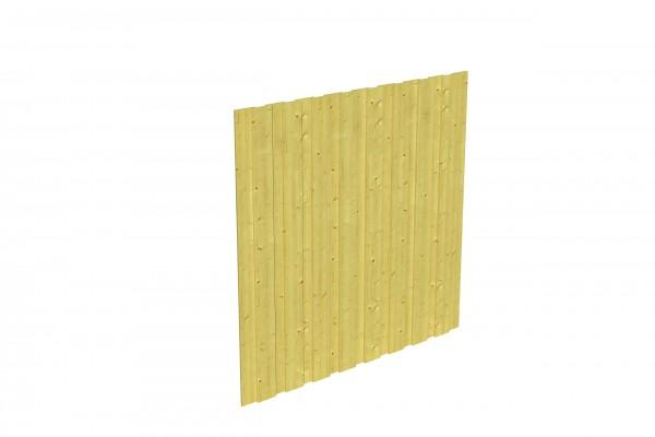 Spreewald / Sauerland 1-9 Zubehör Seitenwand ohne Tür Größe 141x180