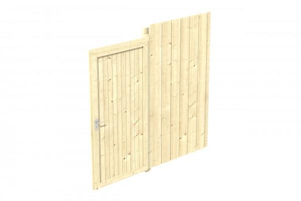 Emsland / Wendland 1,2,4,5,7,8 Zubehör Seitenwand inkl. Tür Größe 230x220