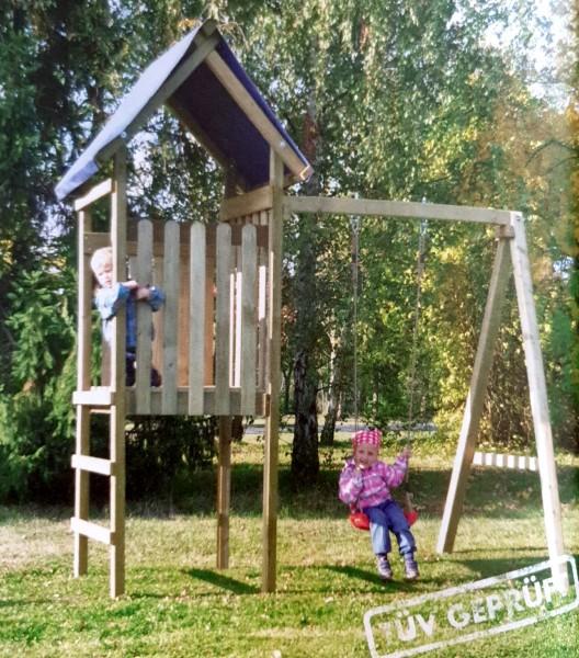 Reduziert: Spielturm mit Schaukel Ronja