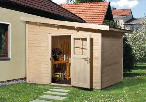 Gartenhaus 260 Größe 2 235x300