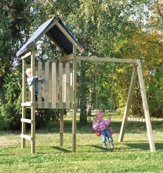 Spielturm mit Schaukel Ronja