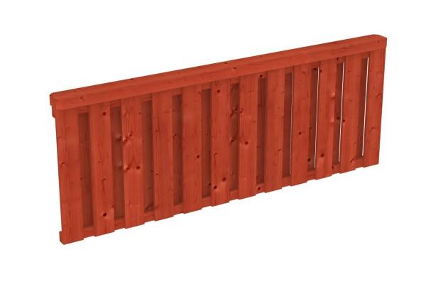 Brüstung Deckelschalung Pfostenabstand 220 cm Zubehör Terrassenüberdachung