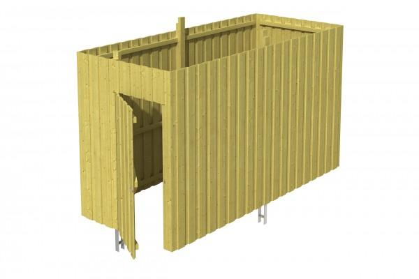 Abstellraum A 3 Zubehör Carport Deckelschalung