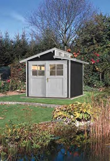 Gartenhaus 226 Größe 3 209x295