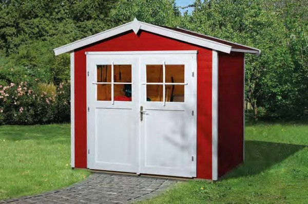 Gartenhaus 224 Größe 3 239x235