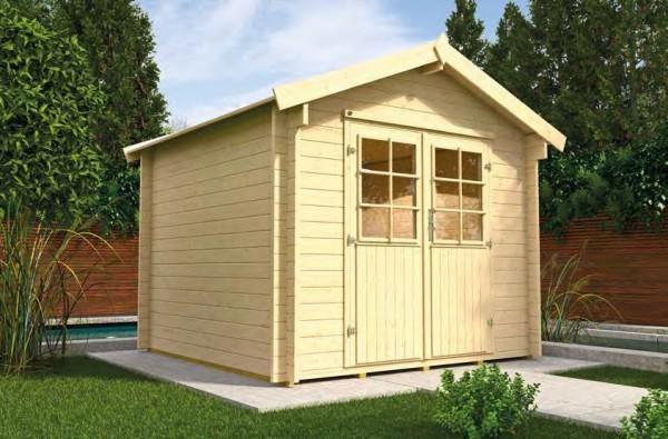 Gartenhaus 132 a Größe 2 250x300