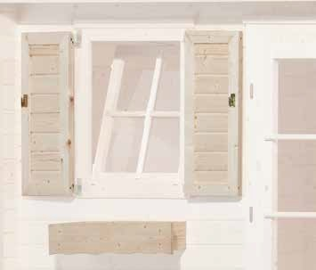 Fensterläden Zubehör Gartenhaus