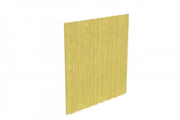 Spreewald / Sauerland 1-9 Zubehör Seitenwand ohne Tür Größe 141x200