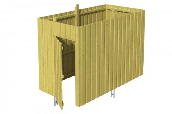 Abstellraum A 1 Zubehör Carport Deckelschalung