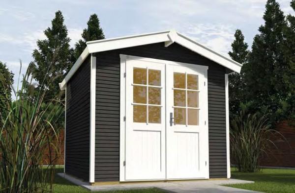 Gartenhaus 218 Größe 1 205x241